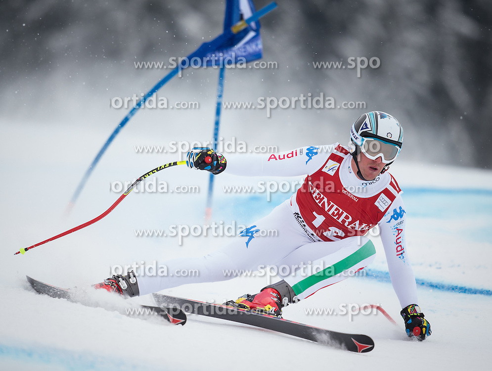 25.01.2013, Streif, Kitzbuehel, AUT, FIS Weltcup Ski Alpin, Super G, Herren, im Bild Werner Heel (ITA) // Werner Heel of Italy in action during mens SuperG of the FIS Ski Alpine World Cup at the Streif course, Kitzbuehel, Austria on 2013/01/25. EXPA Pictures © 2013, PhotoCredit: EXPA/ Johann Groder