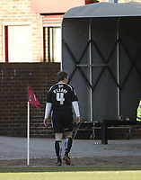 Photo: Aidan Ellis.<br /> Barnsley v Swansea City. Coca Cola League 1. 04/03/2006.<br /> Swansea's Krisstan O'leary walks towards the tunnell after being sent off
