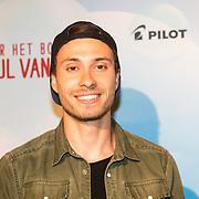 NLD/Amsterdam/20160716 - Groene loper première Meester Kikker, Rutger Vink