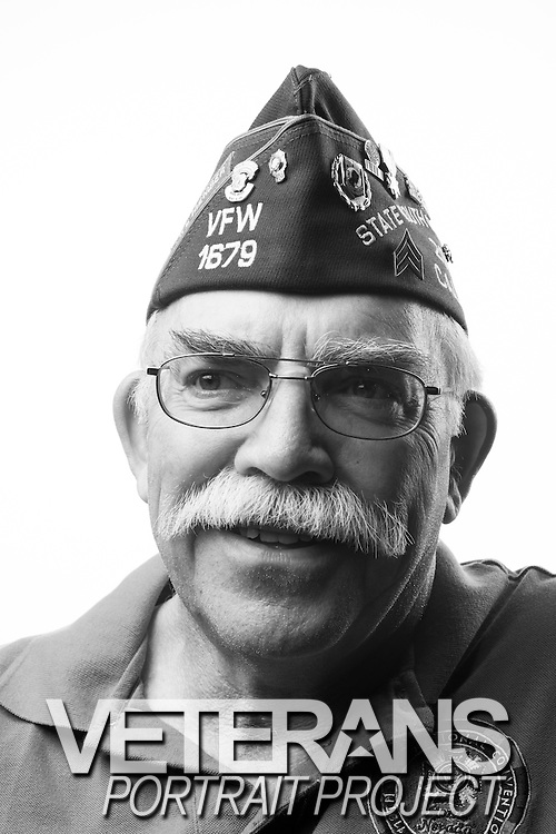 Frederick D. Hoff<br /> Air Force<br /> Jet Gun Technician, Huey Door Gunner<br /> 1968-1972<br /> 1976-1980<br /> Vietnam<br /> <br /> Veterans Portrait Project<br /> Louisville, KY<br /> VFW Convention <br /> (Photos by Stacy L. Pearsall)