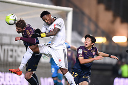 November 28, 2017 - Amiens, France - 22 Changhoon KWON (dij) - 28 XEKA (dij) - 37 Serge GAKPE  (Credit Image: © Panoramic via ZUMA Press)