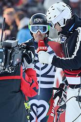 23.01.2011, Hahnenkamm, Kitzbuehel, AUT, FIS World Cup Ski Alpin, Men, Slalom, im Bild // Kilian Albrecht und Thomas Sykora // during the men slalom race at the FIS Alpine skiing World cup in Kitzbuehel, EXPA Pictures © 2011, PhotoCredit: EXPA/ S. Zangrando