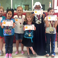 HLES KINDERGARTEN STUDENT OF MONTH<br /> (Courtesy Photo)<br /> The following Houston Upper Elementary Kindergarten Students of the Month for April are: Aubrey Kate Alford, from left, Yozary Sanchez, Jacie Watkins, Lexy Monts, Jayda Isabell, Emily Voyles and Ciara Hiner.