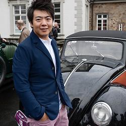 """Lang Lang participant at the """"Grandhotel Schloss Bensberg Rally""""."""