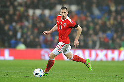 Andrew Crofts of Wales - Mandatory by-line: Dougie Allward/JMP - Mobile: 07966 386802 - 24/03/2016 - FOOTBALL - Cardiff City Stadium - Cardiff, Wales - Wales v Northern Ireland - Vauxhall International Friendly
