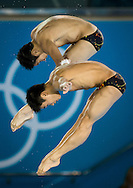 CAO Yuan / ZHANG Yanquan CHN.Diving 10 m. synchro men final.London 2012 Olympics - Olimpiadi Londra 2012.day 04 July 30.Photo G.Scala/Deepbluemedia.eu/Insidefoto