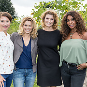 NLD/'t Harde/20170905 - kick-off Opvliegers-3 Actrices verdiepen zich in de overgang, Antje Monteiro, Anouk van Nes, Joanne Telesford en Sandra Mattie