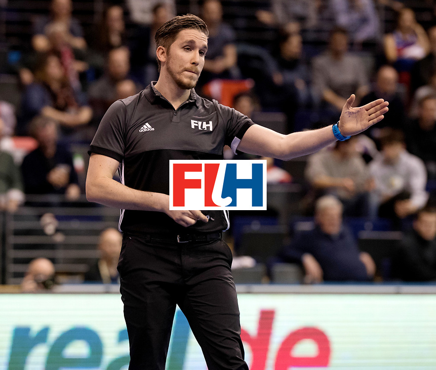 BERLIN - Indoor Hockey World Cup<br /> Quarterfinal 1: Iran - Czech Republic<br /> foto: EILMER Michael.<br /> WORLDSPORTPICS COPYRIGHT FRANK UIJLENBROEK