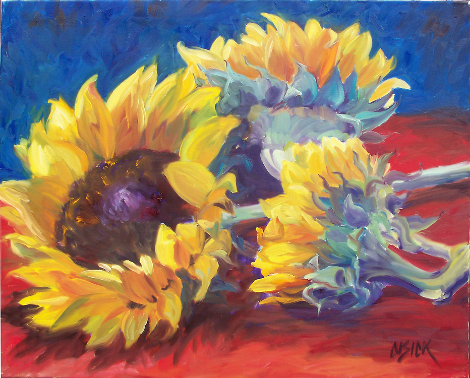 """SOLD, Oil on Linen, 24""""h x 30""""w"""