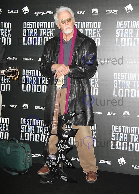 LONDON - OCTOBER 19: J.G. Hertzler attended 'Destination Star Trek London' at the ExCel Centre London, UK, October 19, 2012. (Photo by Richard Goldschmidt)
