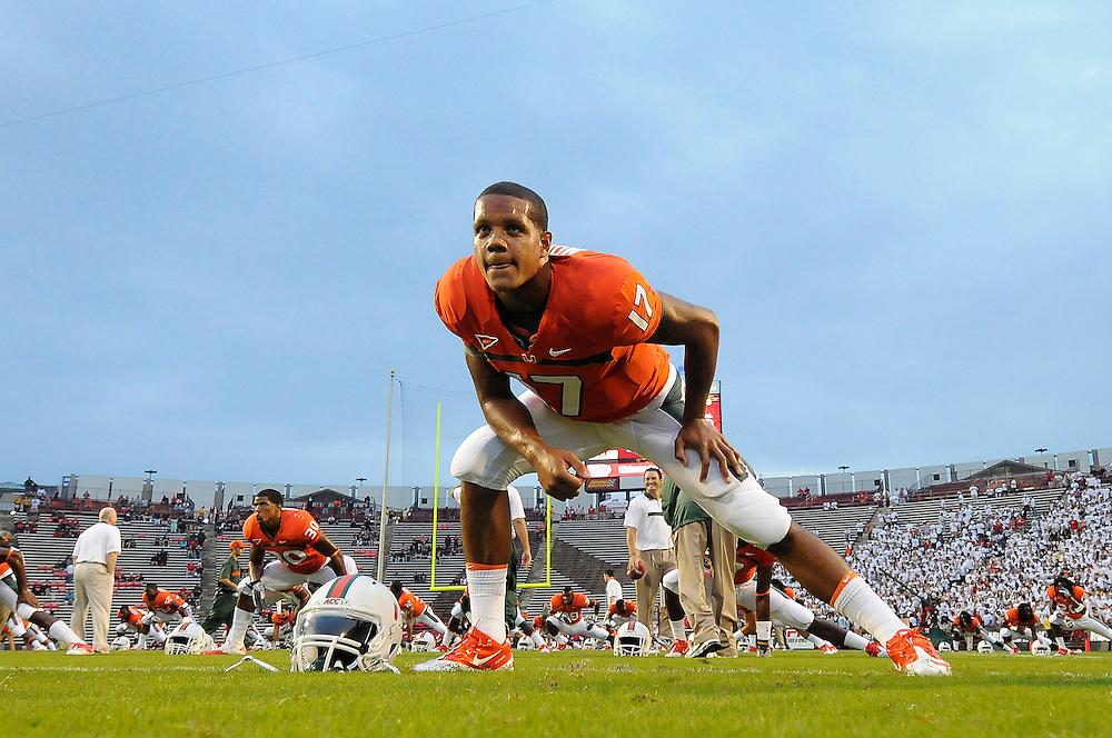 2011 Miami Hurricanes Football @ Maryland<br /> <br /> Stephen Morris