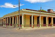 Building in Santa Cruz del Norte, Mayabeque, Cuba.