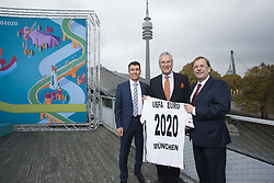 UEFA Euro2020 Logo Pra?sentation, 27.10.2016, im Coubertin im Olympiapark M¸nchen<br /> ©Martin Hangen bei der UEFA Euro 2020 Logo Pr‰sentation f¸r die Spiele in M¸nchen / 271016<br /> <br /> ***Presentation of the Logo for the Munich games at the UEFA EURO 2020, October 27th, 2016***