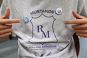 NS/SS Gear Drop.October 1, 2012.Rolling Meadows High School.Rolling Meadows, IL.North Side School..Photograph ©Ross Dettman