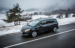 Photos of Opel Zafira, on January 12, 2017 in Preserje, Slovenia. Photo by Vid Ponikvar / Sportida