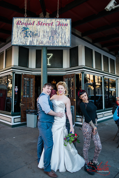 1216 Studio New Orleans Wedding Photographers