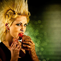 Ever have your heart turned to chocolate, ripped out and broken in half by a beautiful punk rocker? Would you like to?