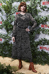 March 6, 2019 - Madrid, Spain - Director Ines de Leon attends the premiere of 'Triple Frontera' of Netflix in Madrid, Spain. March 06, 2019. (Credit Image: © Borjab.Hojas/NurPhoto via ZUMA Press)