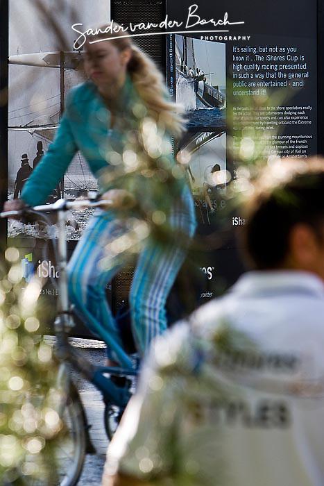 © Sander van der Borch. Amsterdam,  11 September 2008. iShares cat on Zuiplein, WTC.