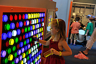 Downtown Charlotte science museum Discovery Place, new hands-on and marine exhibits opened summer 2010. This is the new KidScience area for children under 5 years old