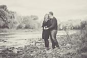 Andrea & Ian's fall engagement photos in Cambridge