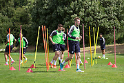 Dundee&rsquo;s Kevin Holt during Dundee FC training at Michelin Grounds, Dundee, Photo: David Young<br /> <br />  - &copy; David Young - www.davidyoungphoto.co.uk - email: davidyoungphoto@gmail.com