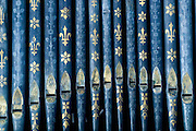 Organ Pipes.<br /> The Dutch Reformed Church in the Galle Fort.