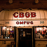 CBGB in New York