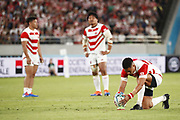 Yu TAMURA (JPN) during the Japan 2019 Rugby World Cup Pool A match between Japan and Russia at the Tokyo Stadium in Tokyo on September 20, 2019.