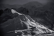 Can't touch this. Heavy terrain in the non-mechanized access region of BC's Tatsenshini-Alsek Provincial Park, a UNESCO Wolrd Heritage Site and part of a network of parks across Alaska, Yukon, and British Columbia that form the largest protected area in the world.