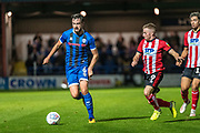 Eoghan O'Connell of Rochdale AFC during the EFL Sky Bet League 1 match between Rochdale and Lincoln City at the Crown Oil Arena, Rochdale, England on 17 September 2019.