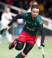AMSTELVEEN - HOCKEY - tijdens de hoofdklasse hockeywedstrijd tussen de vrouwen van Amsterdam en MOP (2-0). FOTO KOEN SUYK