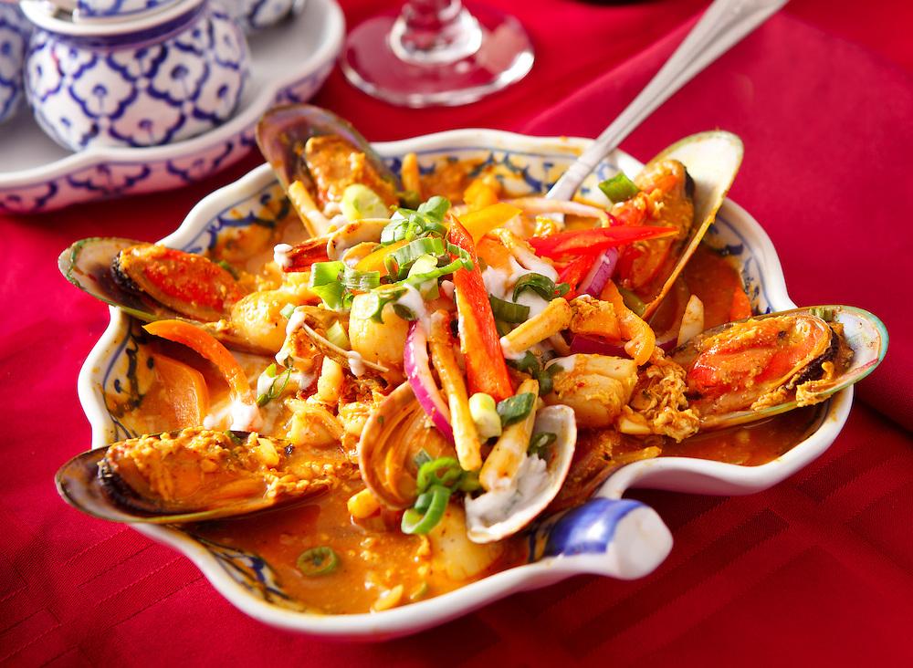 Thai Seafood Platter