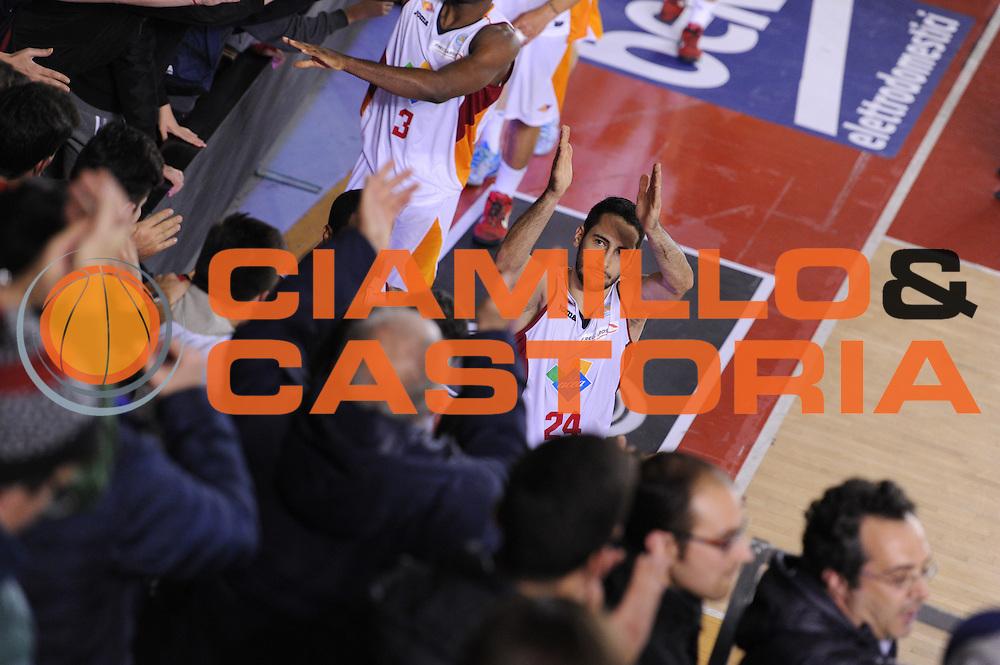 DESCRIZIONE : Roma Lega A 2014-15 Acea Roma EA7 Emporio Armani Milano<br /> GIOCATORE : Rok Stipcevic<br /> CATEGORIA : pubblico tifosi<br /> SQUADRA : Acea Roma<br /> EVENTO : Campionato Lega A 2014-2015<br /> GARA : Acea Roma EA7 Emporio Armani Milano<br /> DATA : 21/12/2014<br /> SPORT : Pallacanestro <br /> AUTORE : Agenzia Ciamillo-Castoria/G.Masi<br /> Galleria : Lega Basket A 2014-2015<br /> Fotonotizia : Roma Lega A 2014-15 Acea Roma EA7 Emporio Armani Milano