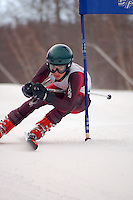 J2 racer competes at Bretton Woods alpine ski race in New Hampshire 4Jan08.