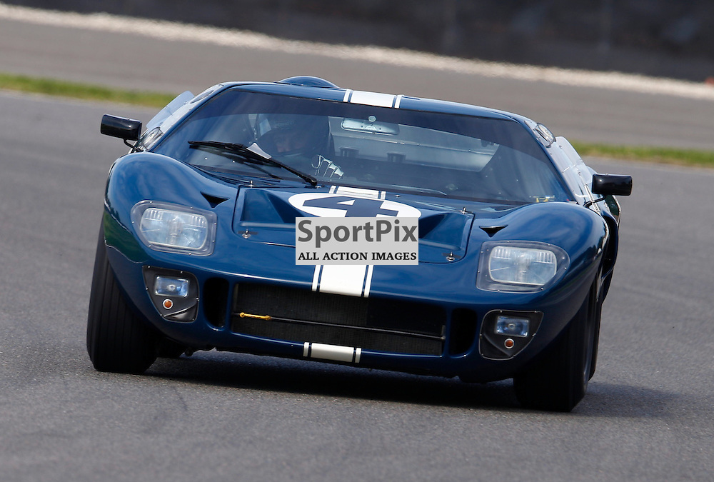 GOODWOOD REVIVAL.....Gavin Henderson  in a 1965 Ford GT40 in the official practice for the Whitsun Trophy ..(c) STEPHEN LAWSON | SportPix.org.uk