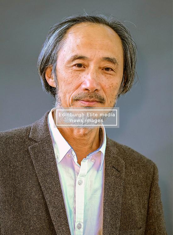 Edinburgh Book Festival, Tuesday, 13th August 2019<br /> <br /> Pictured: Writer and painter Ma Jian <br /> <br /> Alex Todd | Edinburgh Elite media