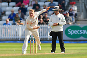 Matt Parkinson of Lancashire bowling during the Specsavers County Champ Div 1 match between Somerset County Cricket Club and Lancashire County Cricket Club at the Cooper Associates County Ground, Taunton, United Kingdom on 5 September 2018.