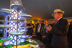 Dr. Pearse Lyons, (IRL), Founder and President of Alltecht, Dupont Jean-Léonce, (FRA)<br /> Alltech FEI World Equestrian Games™ 2014 - Normandy, France.<br /> © Hippo Foto Team - Leanjo de Koster<br /> 25/06/14
