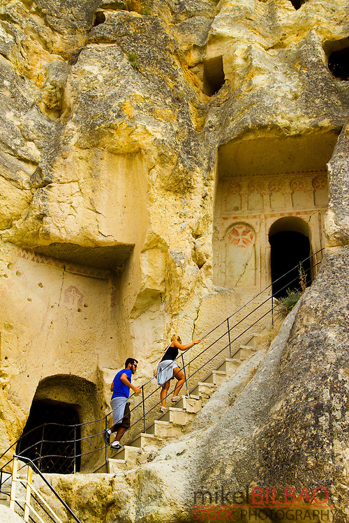 Goreme National Park and the Rock Sites of Cappadocia. Goreme. Cappadocia Region. Nevsehir province. Turkey