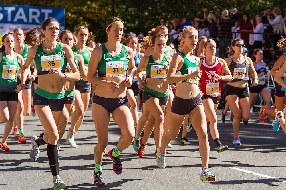 Tufts Health Plan 10K for Women, New Balance Boston, Keely McGuire, Nikki Long