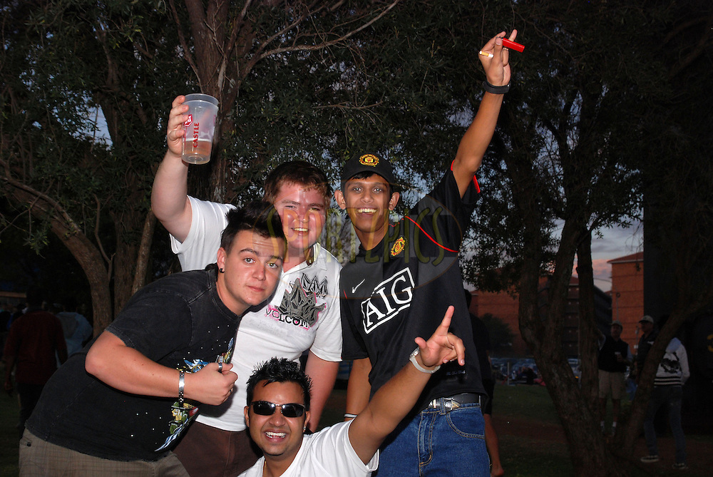 CENTURION, SOUTH AFRICA - 30 April 2009.  Cricket is a unifying force that creates friendships all over the world as was shown during the IPL Season 2 match between the Rajasthan Royals and the Chennai Superkings held at Centurion, South Africa.