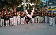 Outdoor Capoeira performance