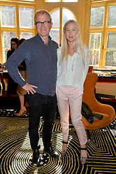 HARRY & LUCY ENFIELD at a lunch to view Solange Azagury-Partridge's new collection - Chromance at her store at 5 Carlos Place, London on 7th October 2014.