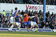 FA Cup, 3rd round match, Cardiff City v Reading at Ninian Park, Cardiff on Sat 3rd Jan 2009. .pic by Andrew Orchard, Andrew Orchard sports photography