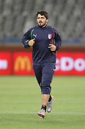 CAPE TOWN, SOUTH AFRICA - 13 JUNE 2010, Gennaro Gattuso of Italy during Italy's training session held at the Cape Town Stadium. Italy play Paraguay in Match 11 of the 2010 FIFA World Cup on Monday 14 June 2010. Photo by: Shaun Roy/Sportzpics