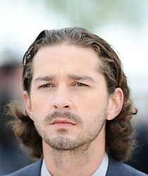 French Actor Shia Labeouf poses during the photocall of 'Lawless' presented in competition at the 65th Cannes film festival on May 19, 2012 in Cannes. Photo by Ki Price/i-images