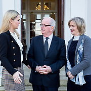 06.02.2018.         <br /> The Minister for European Affairs Helen McEntee TD will visit UL to outline the EU career opportunities open to UL graduates. <br /> <br /> Pictured during the visit were, The Minister for European Affairs Helen McEntee TD, Dr. Des Fitzgerald, President UL and Patrice Twomey, Director of CECD.<br /> <br /> The address is part of a special seminar arranged by EU Jobs Ireland, which will also include presentations by experts from the European Parliament and the Department of the Taoiseach. It&rsquo;s your chance to learn about the range of careers on offer in the EU, how the recruitment process works. The seminar is free and open to all UL students, graduates and staff. Picture: Alan Place