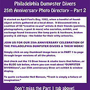 25th Anniversary Directory (Part 2)