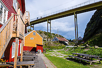 Norway, Haugesund. The small island of Røvær.